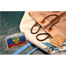 Пряжка для ремня Герб РФ
