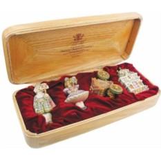 Набор коллекционных украшений Щелкунчик-Маскарад