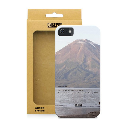 Чехол Камчатка для телефона iPhone 5,5S,SE