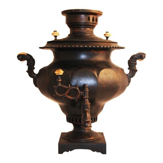 Самовар угольный (жаровый, дровяной) 8 л