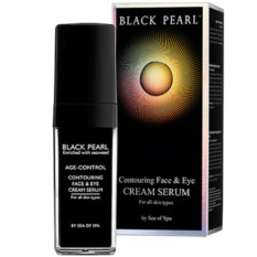 Крем-серум для лица и кожи вокруг глаз Sea of SPA BlackPearl