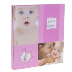 Магнитный фотоальбом для новорожденного Girl