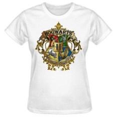 Женская футболка Хогвартс