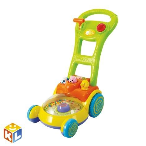 Детская каталка Забавная газонокосилка Playgo