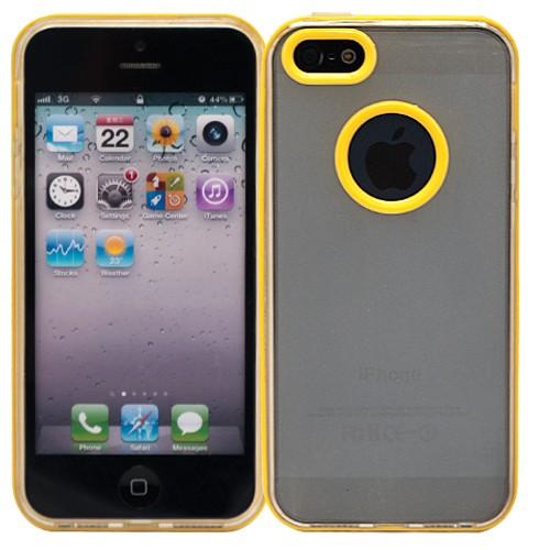Чехол для iPhone 5/5s Kaster (желтый)
