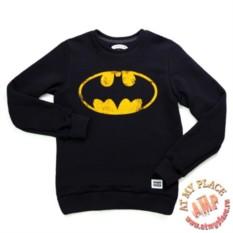 Хлопковая толстовка-свитшот Бэтмен