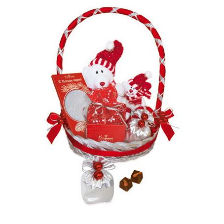 Шоколадный новогодний набор «Мишки»
