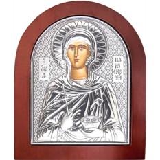 Икона в серебряном окладе Параскева Пятница