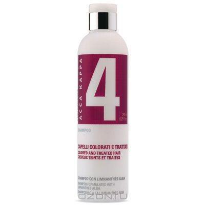 Шампунь Acca Kappa, для окрашенных и поврежденных волос, 250 мл