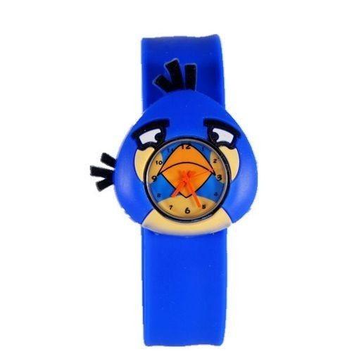 Силиконовые часы Angry birds, синий