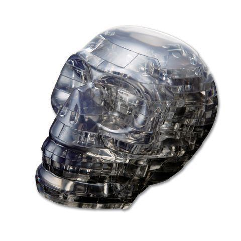 3D головоломка Череп Серебристый