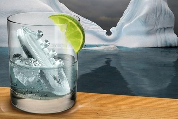 """Форма для льда """"Титаник"""""""