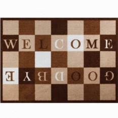 Придверный коврик Welcome-goodbye