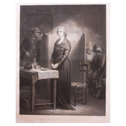 «Мария Антуанетта в привратницкой»
