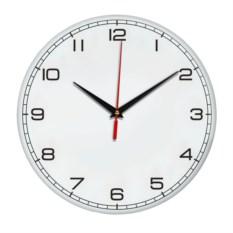 Настенные часы с мелкими цифрами