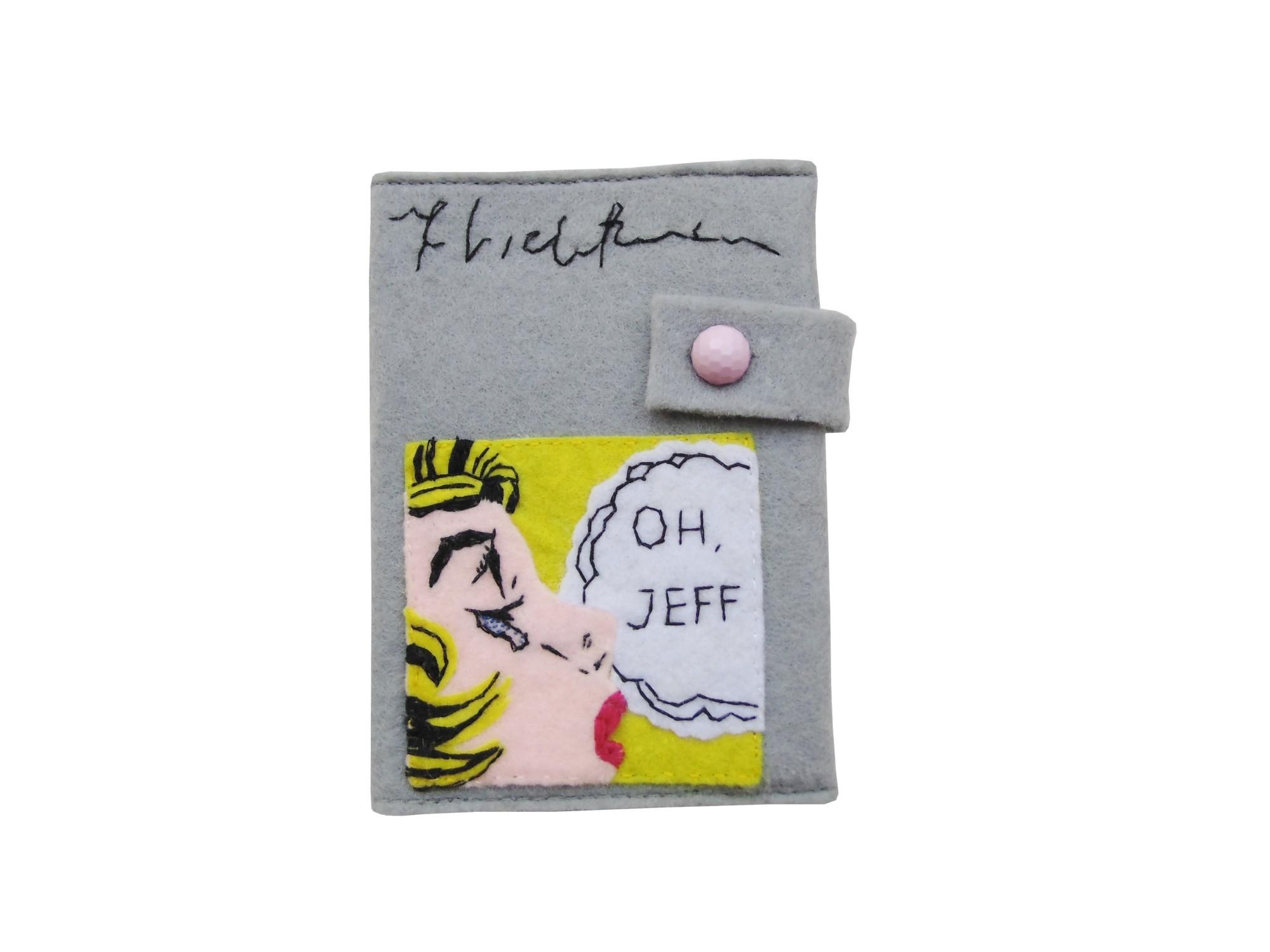 Обложка для паспорта Oh, Jeff