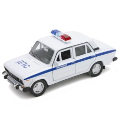 Модель машины Welly LADA 2106 МИЛИЦИЯ ДПС