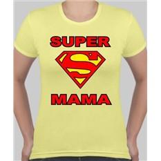 Футболка женская Супер мама