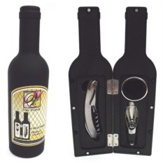 Набор для вина в футляре в форме бутылки Vicenza
