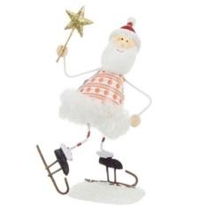 Фигурка Дед мороз на коньках