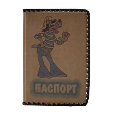 Обложка для паспорта ребенка Ну, погоди!