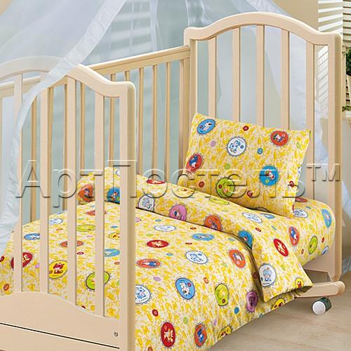 Ясельный комплект постельного белья Детский гороскоп