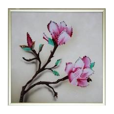 Картина с кристаллами сваровски Японская вишня