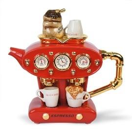 Чудо-чайник Двойной эспрессо, красный
