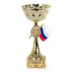 Кубок-чаша с триколором Бизнесмен года