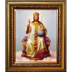Икона на холсте Царь Царей (Царь славы)