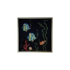 Картина с кристаллами Сваровски «Рыбки»