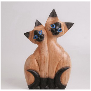Фигурка «Две кошки»