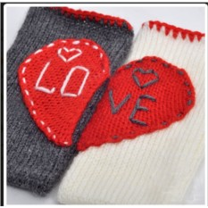 Набор чехлов для телефона «Половинки одного сердца»