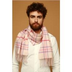 Мужской шерстяной шарф Lancetti cashmere-pink
