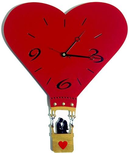 Настенные часы Влюбленная пара