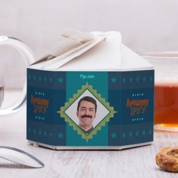 Чайный набор Настоящему другу с фото