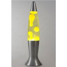 Лава-лампа с жёлтым воском