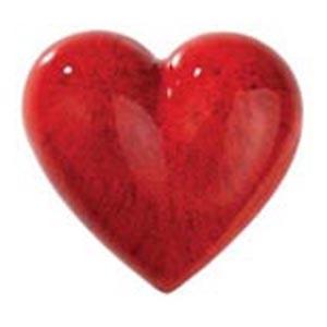 Фарфоровое сердце Purpur