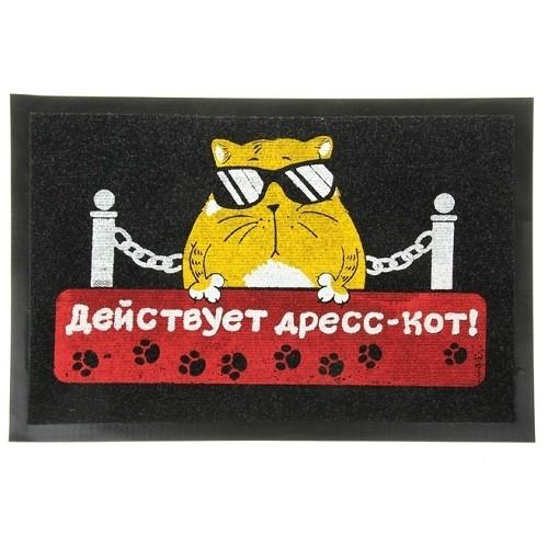 Придверный коврик Дресс-кот
