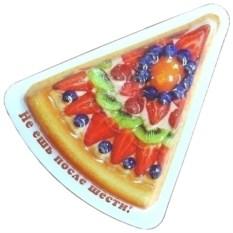 Магнит Пицца фрукты