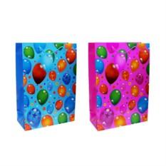 Подарочный бумажный пакет Воздушные шары