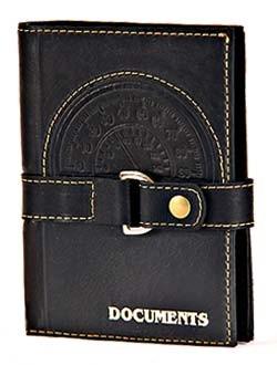 Кожаная обложка для автодокументов и паспорта