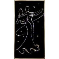 Картина с кристаллами Сваровски Вальс