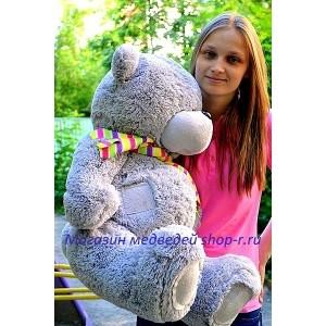 Большой мягкий мишка Тедди
