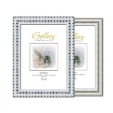 Серебристая фоторамка Gallery 13х18