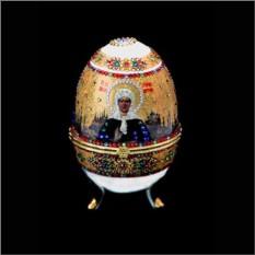Православное яйцо с кристаллами Сваровски