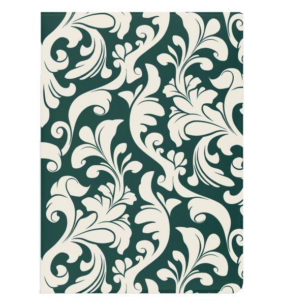 Обложка для паспорта Miusli Pattern green