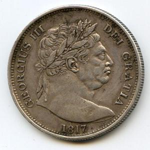 Монета «1/2 кроны»
