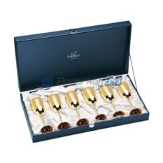 Бокалы для шампанского Золото
