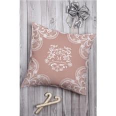 Декоративная подушка с вашим именем Кружева